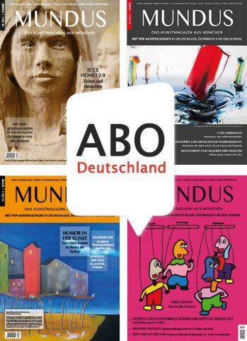MUNDUS Jahresabo Deutschland